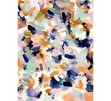 Lee - Abstract Brush Strokes Photographic Print