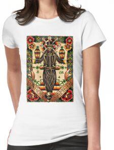 Baron Samedi Womens Fitted T-Shirt