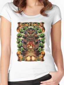 Bohemians Grove Women's Fitted Scoop T-Shirt