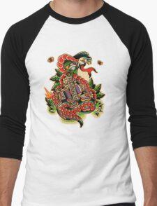 Brazilian Snake Men's Baseball ¾ T-Shirt