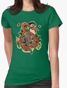 Brazilian Snake Womens Fitted T-Shirt