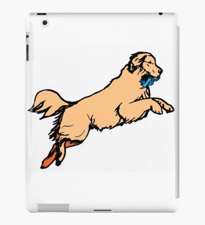 Jumping Dog iPad Case/Skin