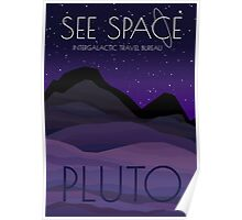 See Space: Pluto Poster