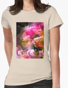 Abstract 272 Womens Fitted T-Shirt