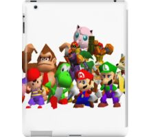 Super Smash Bros. 64 Cast iPad Case/Skin