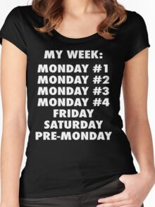 Everyday Is Monday Women's Fitted Scoop T-Shirt