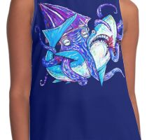 Shark Vs. Squid  Contrast Tank