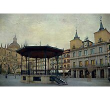 Plaza Mayor de Segovia Photographic Print