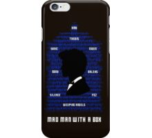 Mad Man With a Box iPhone Case/Skin