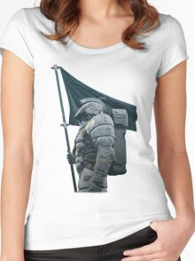 Kojima Productions We Are Ludens Women's Fitted Scoop T-Shirt