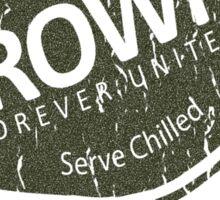 Brown Family Brewed - Blackened Sticker