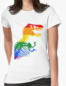 LGBT Rex Womens Fitted T-Shirt