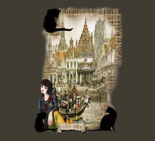 November - Canals in old Amsterdam Unisex T-Shirt