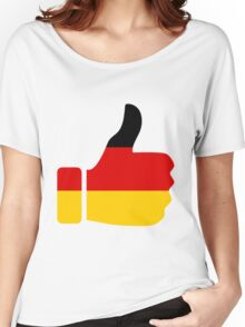 Thumbs Up Germany Women's Relaxed Fit T-Shirt