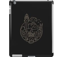The LOTR (BLK) iPad Case/Skin