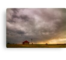 Stormy Skies On The Colorado Plains Canvas Print