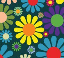 1970s Pattern Sticker
