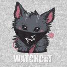 Watchcat: Fluffy Hacker by narwen