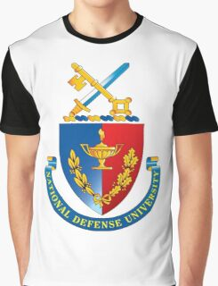 National Defense University (NDU) Logo Graphic T-Shirt