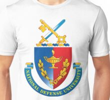 National Defense University (NDU) Logo Unisex T-Shirt