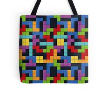 Tetris Blocks Game Over Tote Bag