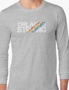 Orlando Strong White Rainbow Long Sleeve T-Shirt