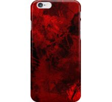 Red Inferno iPhone Case/Skin