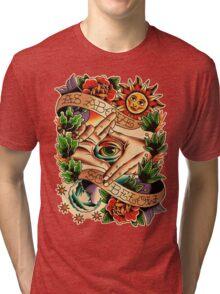 As Above So Below I Tri-blend T-Shirt