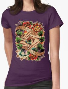 As Above So Below I Womens Fitted T-Shirt