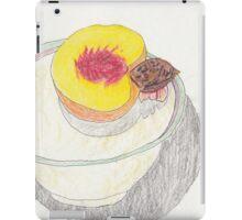 Peach in Bowl - Colored Pencil iPad Case/Skin