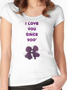 i love u since 900 Women's Fitted Scoop T-Shirt