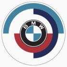 BMW Retro logo by AlexVentura