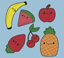 Chibi Fruits One Piece - Short Sleeve