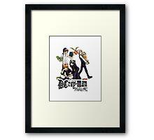 d gray man hallow design  Framed Print