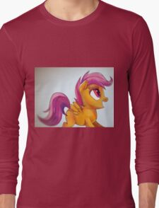 Scootaloo yay Long Sleeve T-Shirt