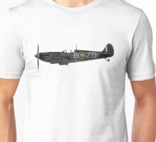 Spitfire Side View Unisex T-Shirt