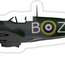 Spitfire Side View Sticker