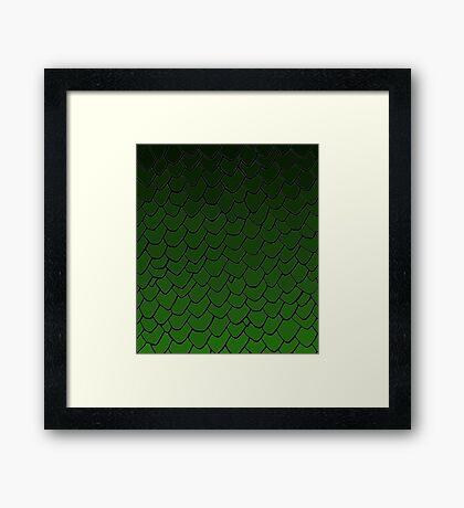 Rhaegal Scales Framed Print