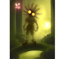 Skull kid is staring at you Photographic Print
