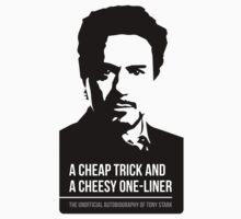 Tony Stark - Autobiography - Ironman by phunknomenon