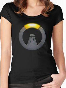 OVERSALT Women's Fitted Scoop T-Shirt