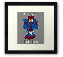 Bad case of H.E.R.B.I.E.s Framed Print