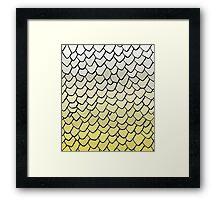 Viserion Scales Framed Print