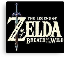 The Legend of Zelda: Breath of the Wild Canvas Print