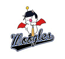 FF Baseball - Midgar Moogles Photographic Print
