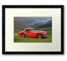 1961 Triumph TR3 Roadster Framed Print