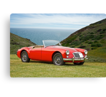 1956 MGA Roadster Canvas Print