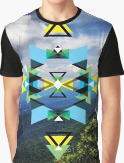 Sky Abstraction Graphic T-Shirt