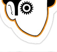 Clockwork Orlando - headshot Sticker