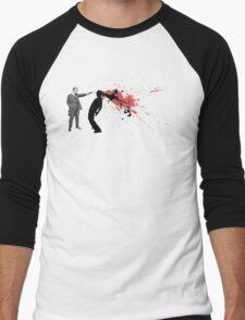Blow Your Brains Out Men's Baseball ¾ T-Shirt